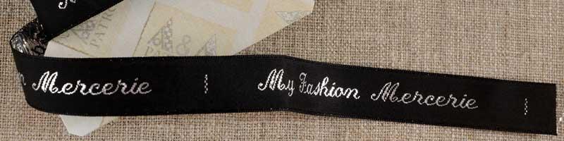 Fancy labels 15 mm My Fashion Mercerie