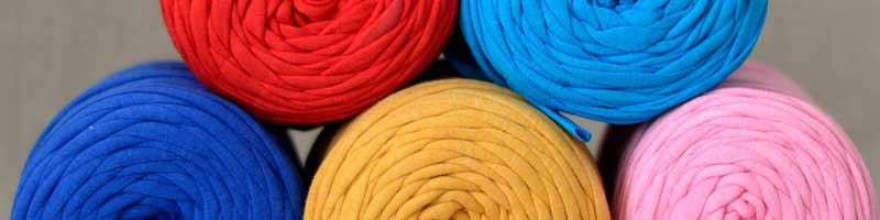 Trapilho knitting thread
