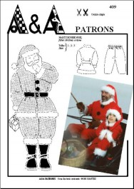 Habit de père Noël P409