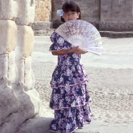 Patron couture déguisement robe gitane enfant