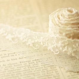 Tulle brodé pour mariage