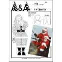 Patron de déguisement Habit de père Noël P409