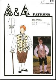 Marquis costume P212