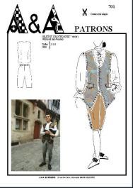 Waistcoat and breeches (18th century) P701