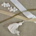 Gros grain coton tradition 5 à 35 mm