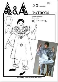 Costume de Pierrot P501