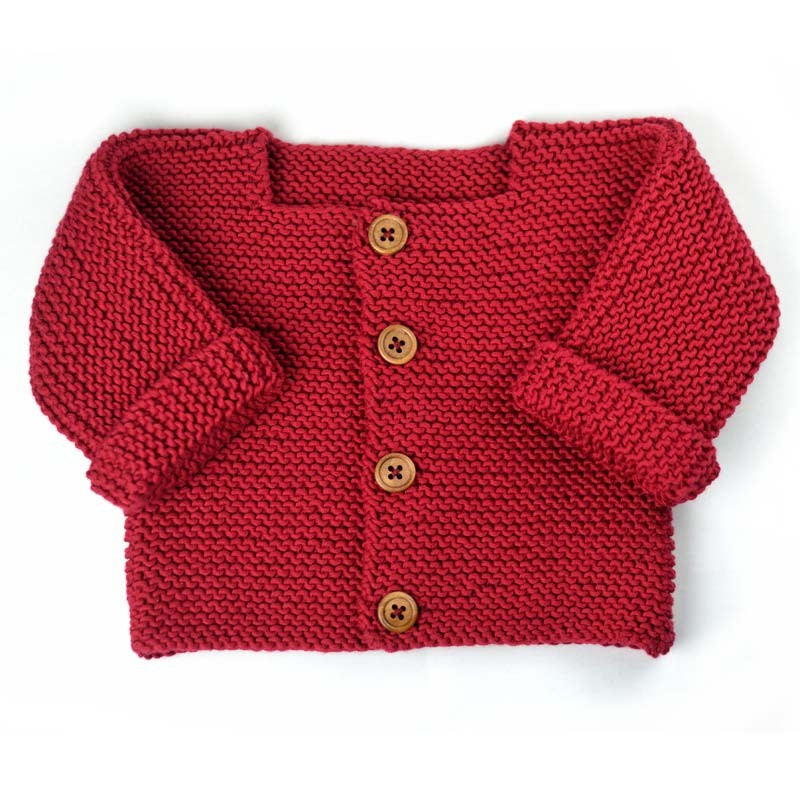 patron tricot veste bebe