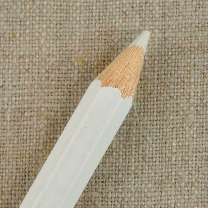 Gros crayon craie de marquage blanc pour tissu a a patrons - Enlever stylo sur tissu ...