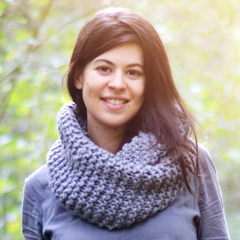 Kit tricot d butant snood sorlin a a patrons - Tricoter un plaid debutant ...