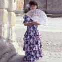 Patron de déguisement robe espagnole ou de Gitane P306