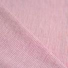 Tissu coton rayures blanc et rouge