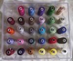 Lot de 29 couleurs de fils Sulky 40