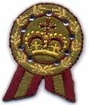 Ecusson couronne royale