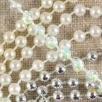 Galon perles