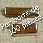 Clips de réglage de bretelle 25 ou 36 mm boite de 100 pièces