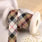 Biais écossais Burberry couture