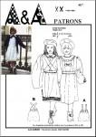Kit couture Robe chasuble enfant 4 à 10 ans