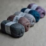 Coton et laine cachemire Amande