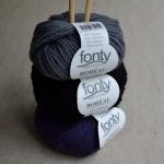 Laine et alpaga Boréal de Fonty à tricoter