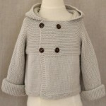 Paletot Jonas bébé à tricoter en kit