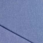 Tissu chambray Bio bleu
