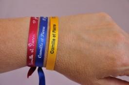 Bracelets message