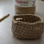 Modèle Corbeille au crochet