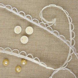 Bande à brides élastiques 10 mm