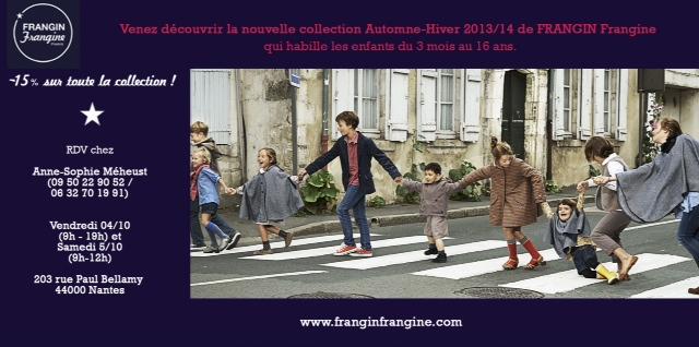 FRANGIN Frangine habille les enfants de 3 mois à 16 ans