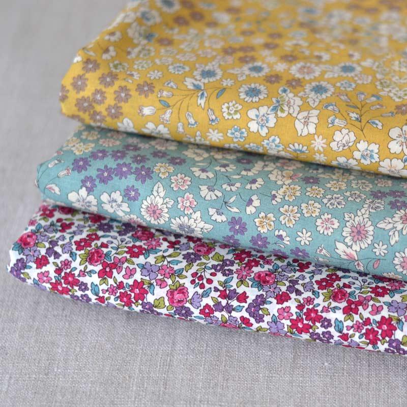 floral fabrics Lecien