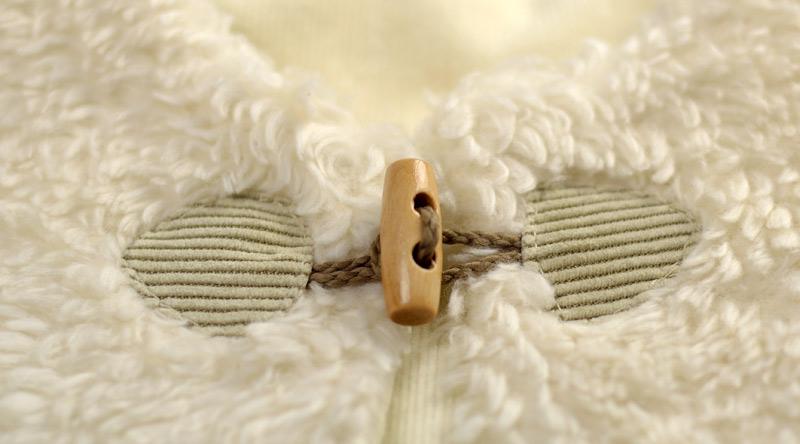 shepherd velvet vest baby frogs