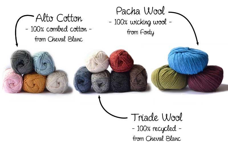 beginners knitting wool