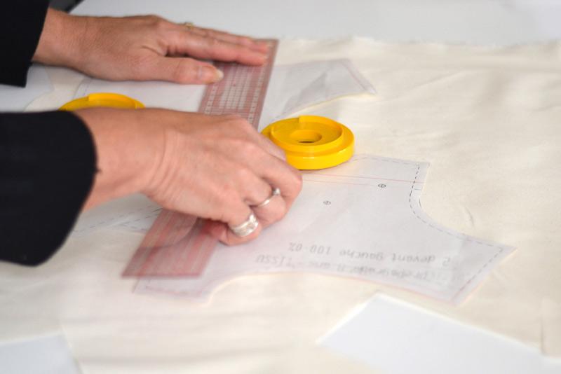 Pattern and seam allowances