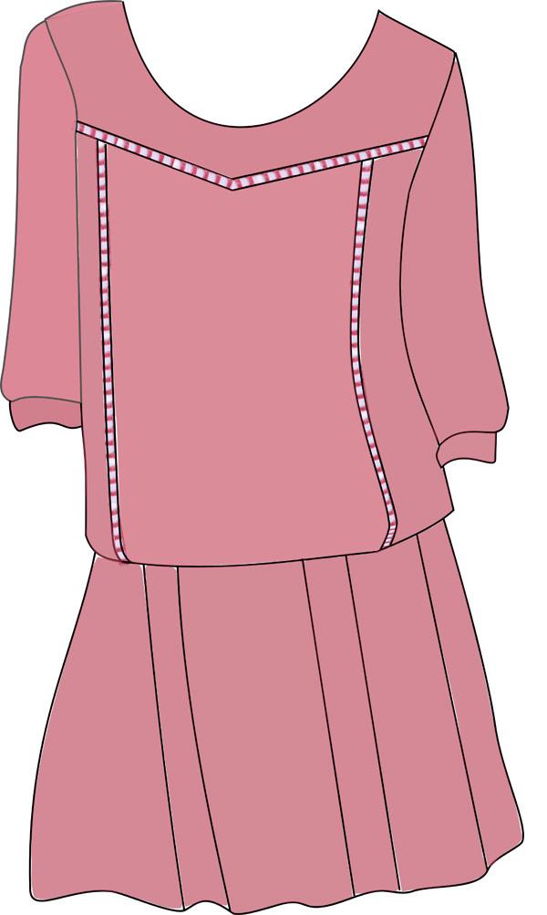 Idée de robe jour échelle