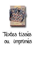 A&A Patrons : Textes tissés ou imprimés
