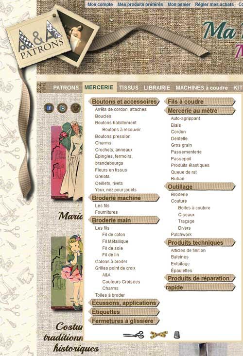 Les catégories