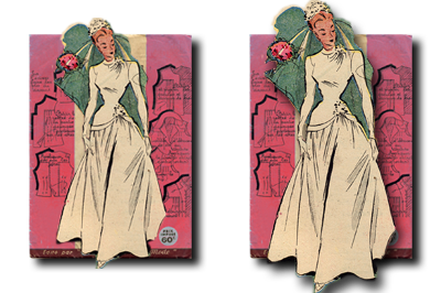 Haberdashery and fabrics for decoration Wedding, dresses ...