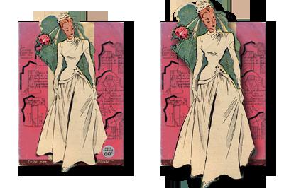 Mercerie et tissus pour mariage décoration, robes...