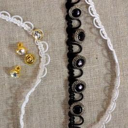 Bande à brides élastiques 6 mm