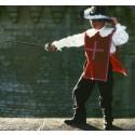 Patron de déguisement costume de mousquetaire, de troubadour P302