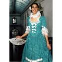 Patron historique de  robe de marquise avec jupon à baleines P700
