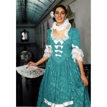 Patron de  robe de marquise avec jupon à baleines P700
