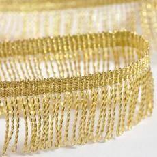 Franges dorées 30 mm