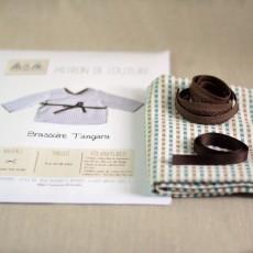 Kit à coudre de la brassière Tangara pour bébé