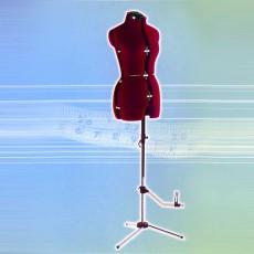 Mannequin de couture buste en 4 parties avec forme de jambe