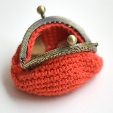 Fermoir bronze arrondi 6 cm crochet