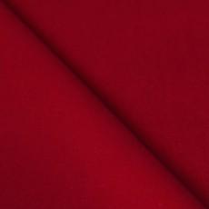 velours de coton lisse rouge