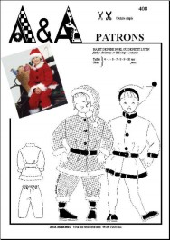 Santa Claus or little imp's costume P408