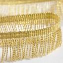 Franges dorées 50 mm