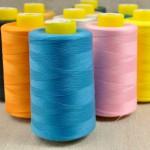Cône fil polyester de couleur